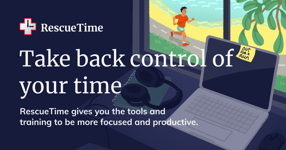 Millions of smart people and businesses trust RescueTime's award-winning tools and courses to help them become more focused, productive, and motivat